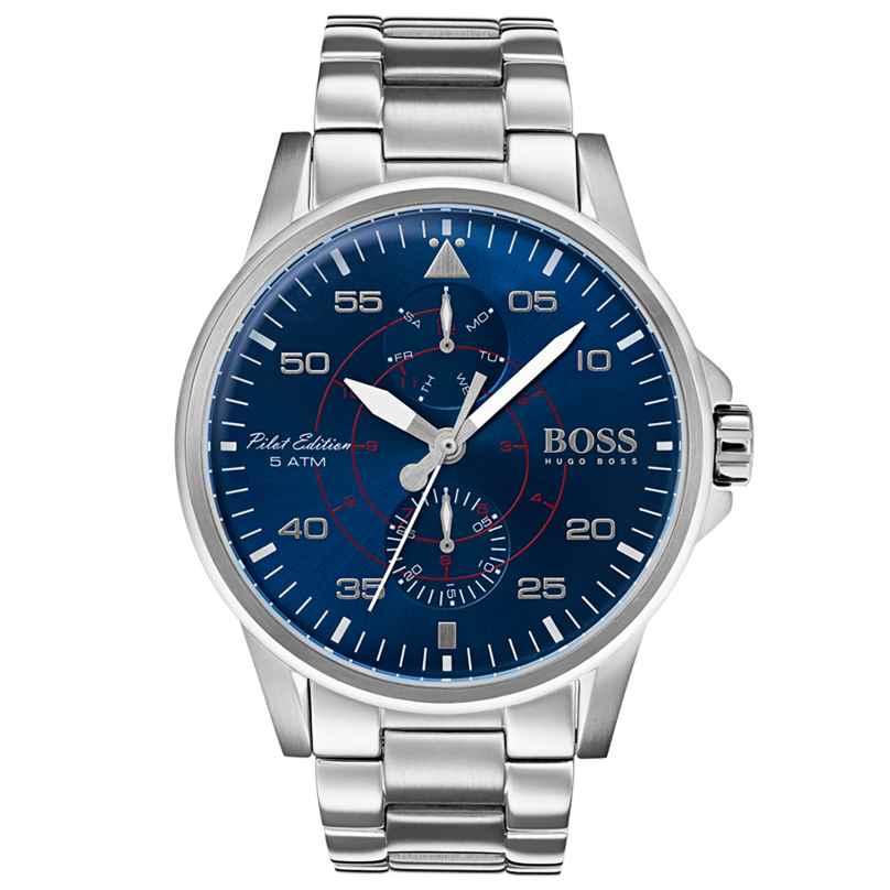 Boss 1513519 Multifunktion Herrenuhr Aviator 7613272239769