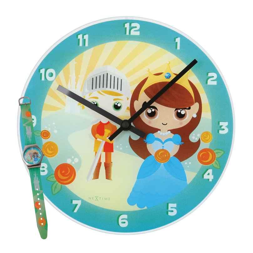 NeXtime 8623 Knight & Princess Uhren-Set 8717713000068
