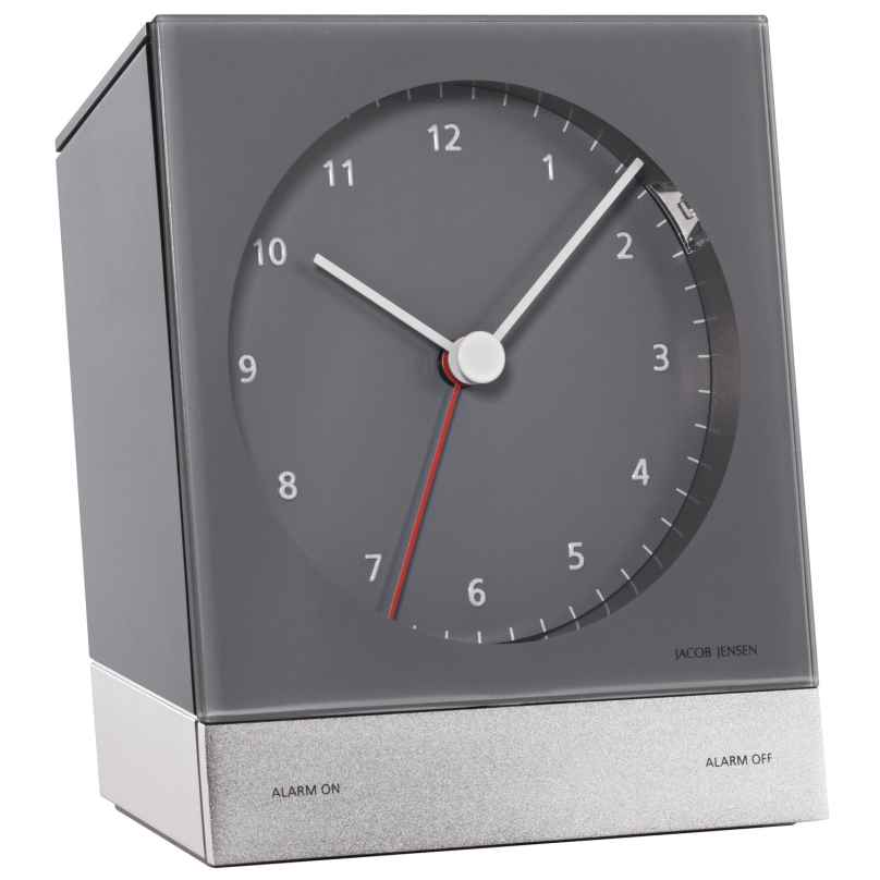 Jacob Jensen 32340 Alarm Clock Grey 8718569103408
