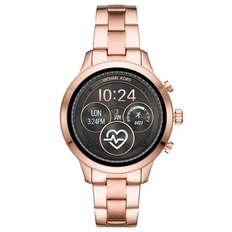 Michael Kors Access MKT5046 Damen-Smartwatch Runway Roségoldfarben 4013496055566