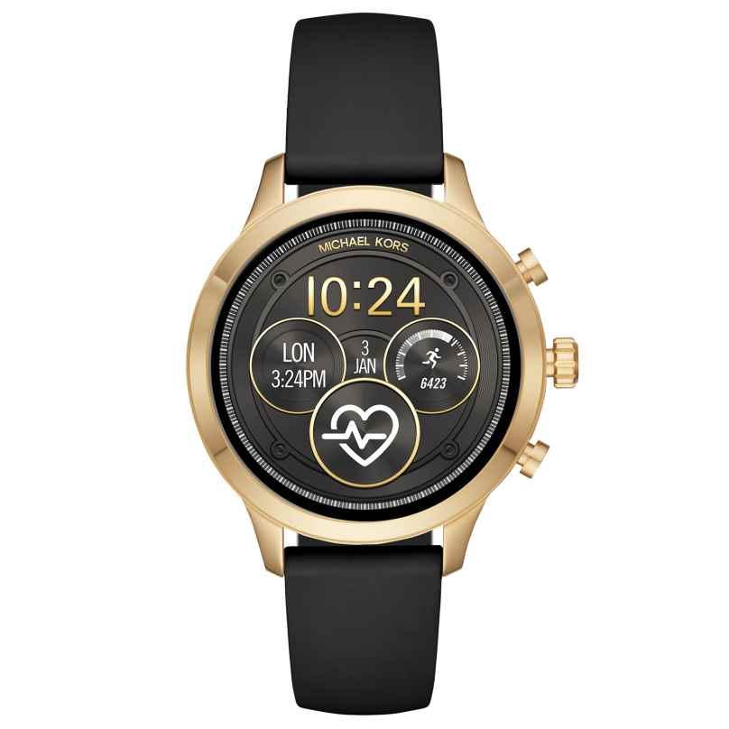 Michael Kors Access MKT5053 Damen-Smartwatch Runway Silikonband 4013496055597