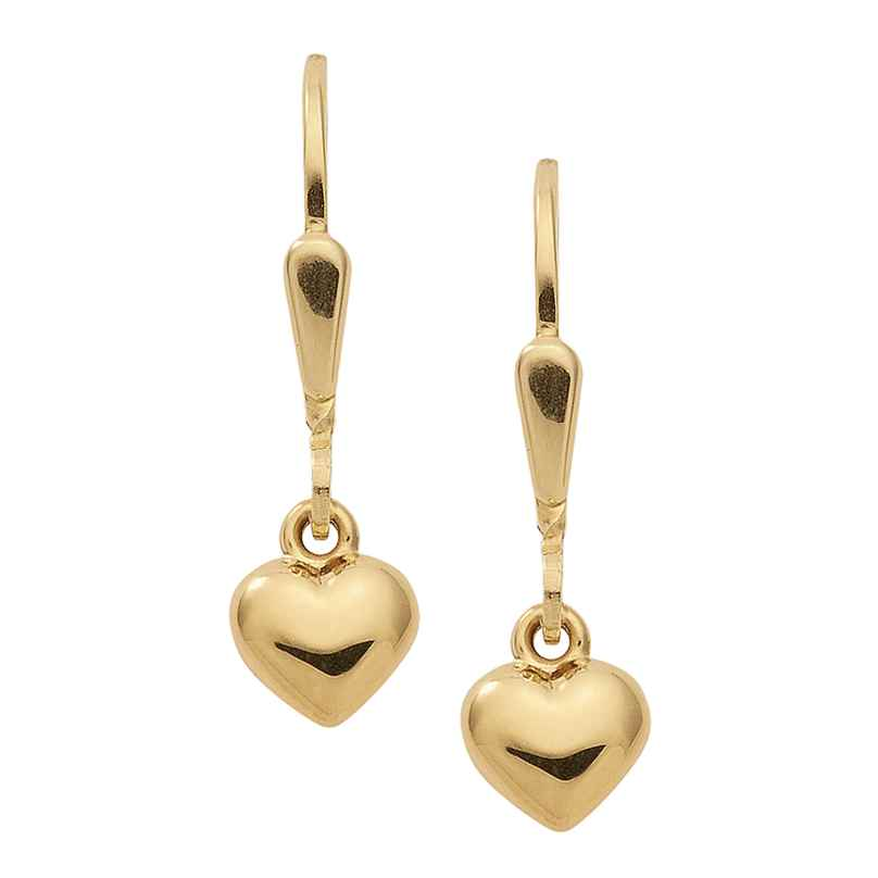 trendor 47330 Ohrringe Herzchen Gold 333 4260143747330
