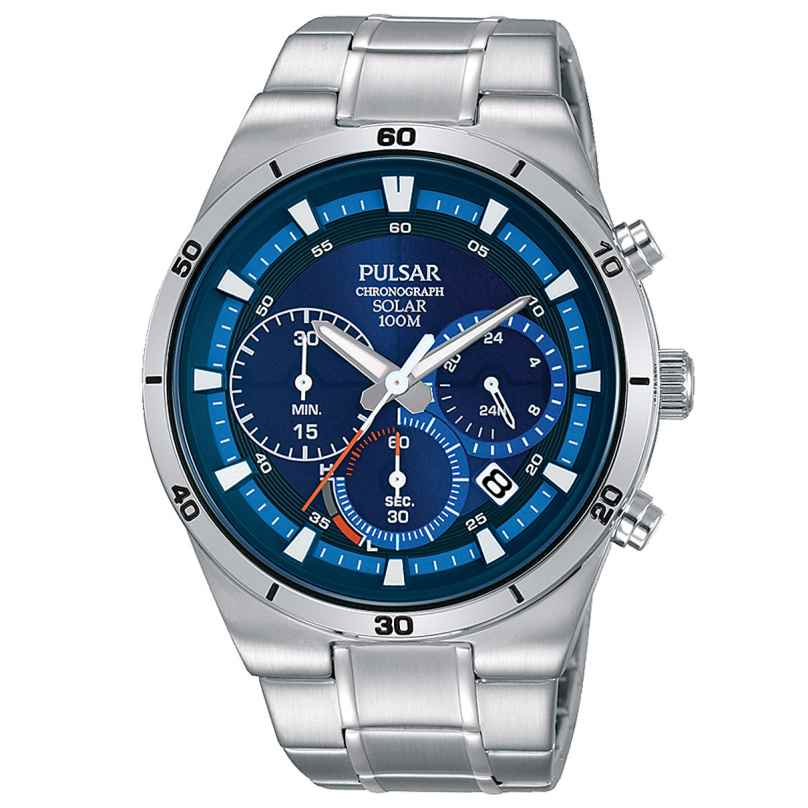 Pulsar PZ5035X1 Solar Herrenuhr Chronograph 4894138034350