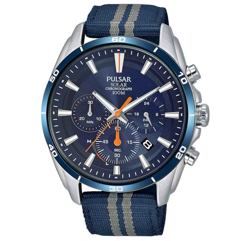 Pulsar PZ5089X1 Herrenuhr Solar-Chronograph Sport 4894138037849