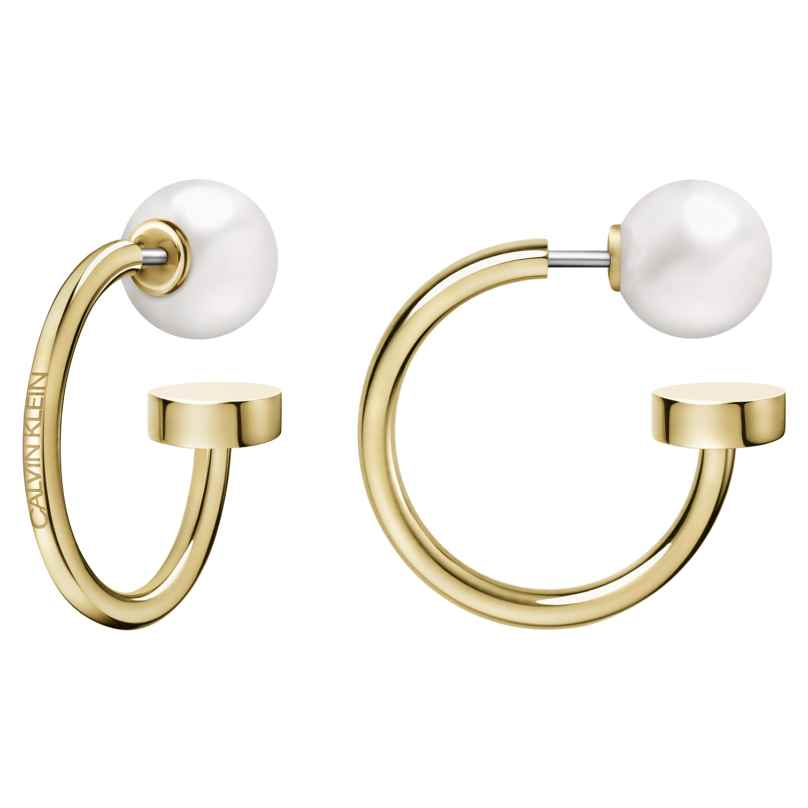Calvin Klein KJ9RJE140100 Ladies´ Hoop Earrings Bubbly 7612635125978