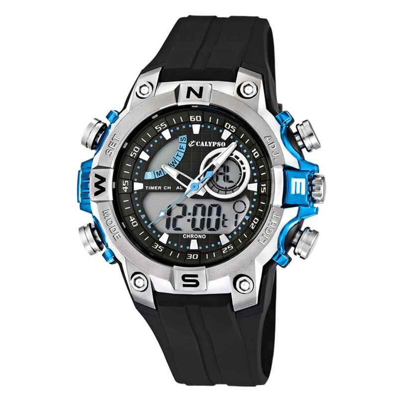 Calypso K5586/2 Digital Chronograph Herrenuhr 8430622531378