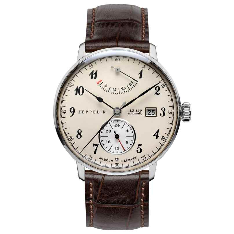 Zeppelin 7060-4 Hindenburg Automatic Gents Watch 4041338706048
