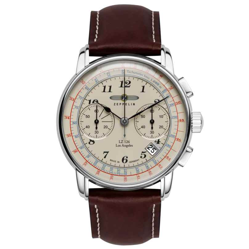 Zeppelin 7614-5 LZ126 Los Angeles Herren-Chronograph 4041338761450
