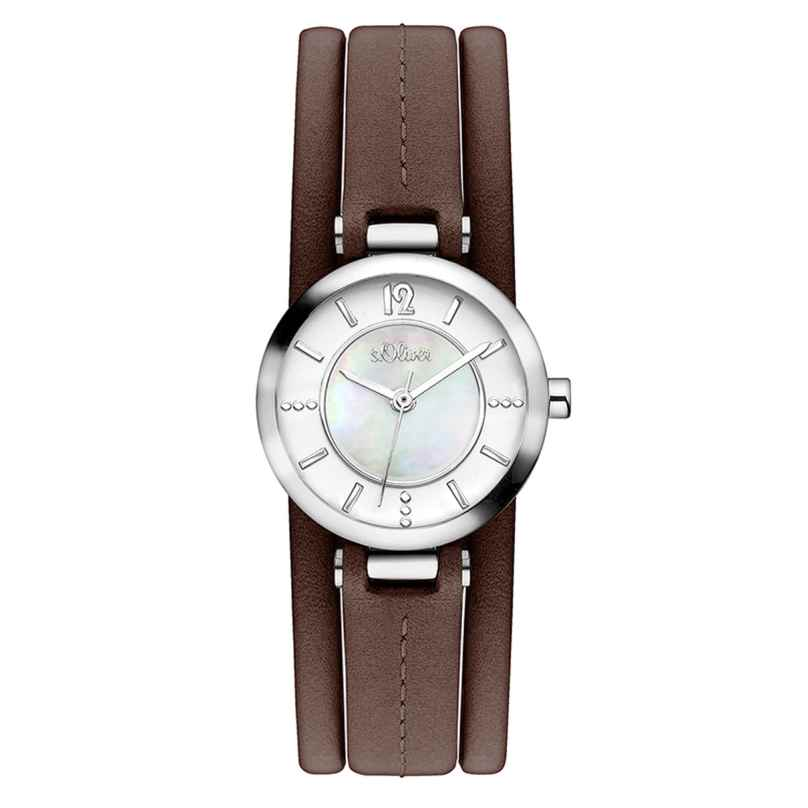 s.Oliver SO-3276-LQ Damen-Armbanduhr 4035608031381