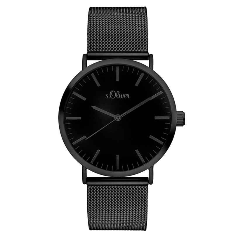 s.Oliver SO-3216-MQ Herren-Armbanduhr 4035608030780