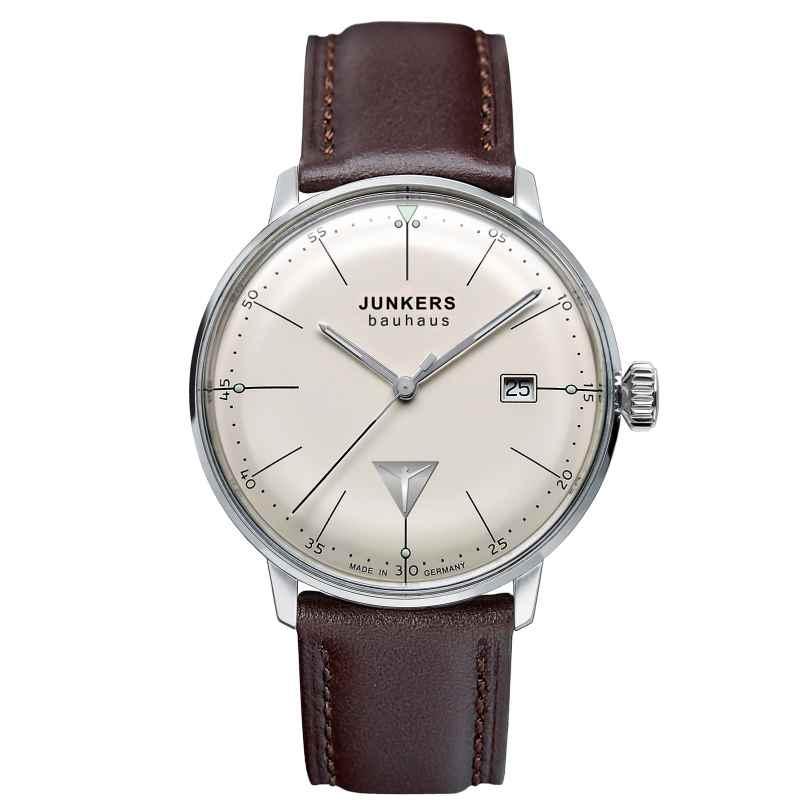 Junkers 6070-5 Bauhaus Herren-Armbanduhr 4041338607055