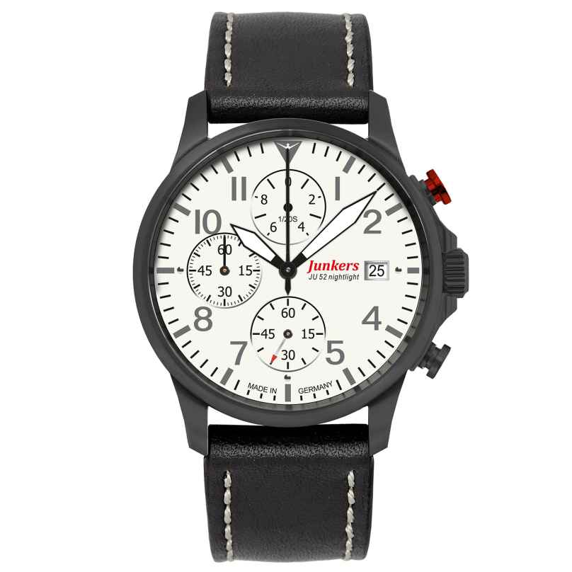 Junkers 6872-5 Tante Ju Chronograph Mens Watch 4041338687255