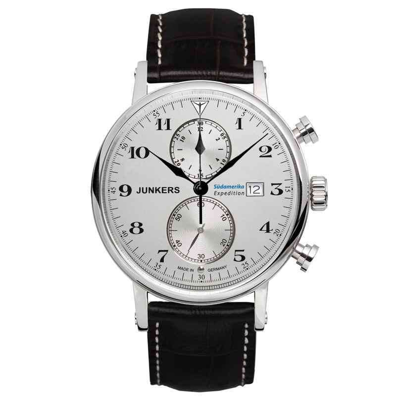 Junkers 6586-1 Expedition Südamerika Herren-Chronograph 4041338658613