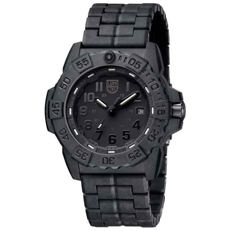 Luminox mens diver s watch navy seal black - Luminox navy seal dive watch ...