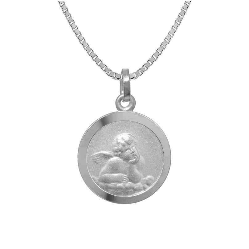 trendor 73181 Silber Kinder-Halskette mit Schutzengel-Anhänger 4260333973181
