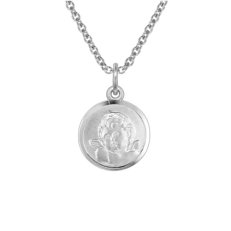 trendor 73402 Silber Kinder-Halskette mit Amor-Anhänger 4260333973402