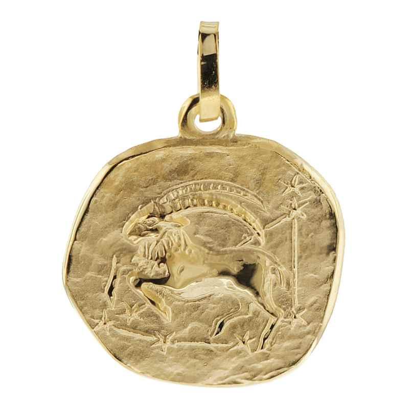 trendor 08725 Sternzeichen-Anhänger Steinbock Gold 333 4260497087250