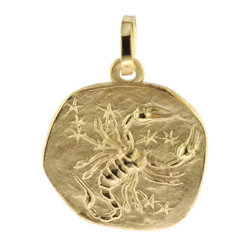 trendor 08735 Zodiac Pendant Scorpio Gold 333/8 ct 4260497087359