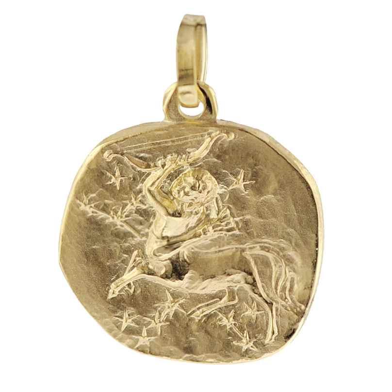 trendor 08969 Sternzeichen-Anhänger Schütze Gold 585 4260497089698