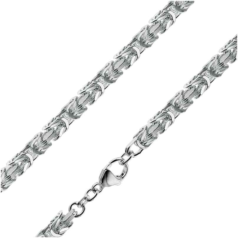 trendor 86113 Herren Königskette Silber