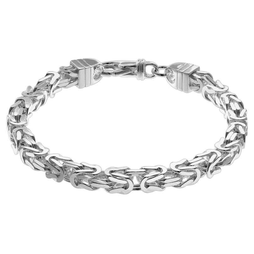 trendor 08797 Herren-Armband Königskette Silber 925 4260497087977