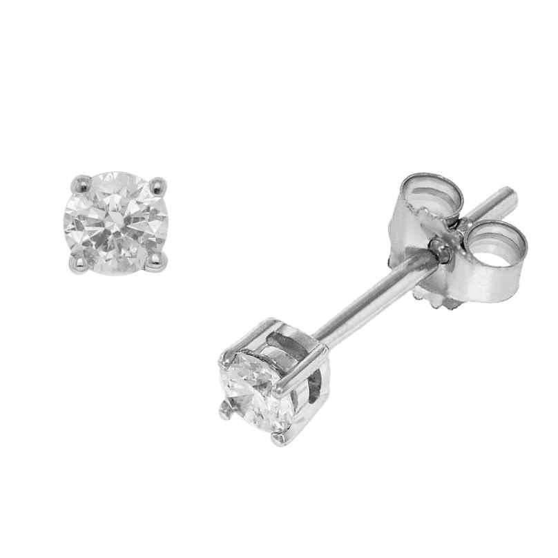 trendor 35232 Diamant-Ohrringe 0,25 Ct. 4260435352327