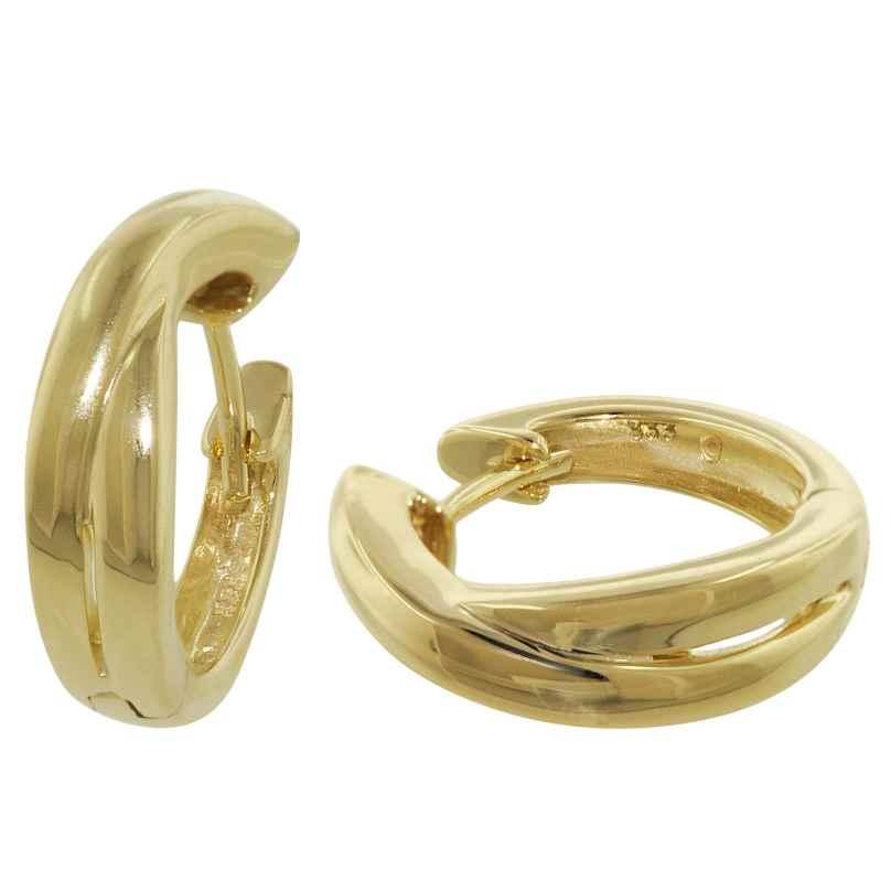 trendor 35384 Creolen Gold-Ohrringe 4260435353843