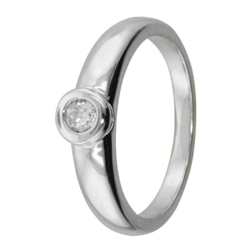 trendor 69166 Silber Damen Ring mit Zirkonia