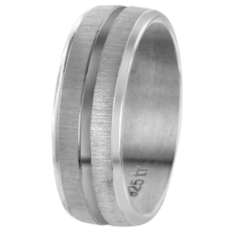 trendor 65410 Partnerring Sterlingsilber 925 Breite 7 mm
