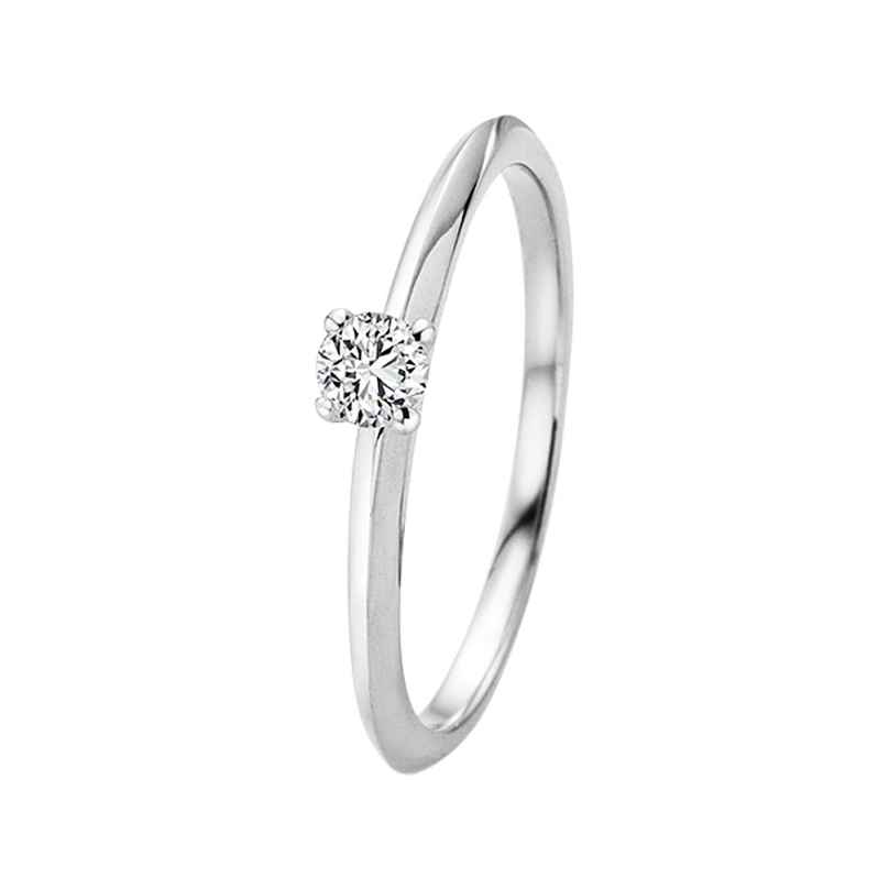 trendor 532656 Diamant-Ring 0,10 kt. Weißgold 585/14K