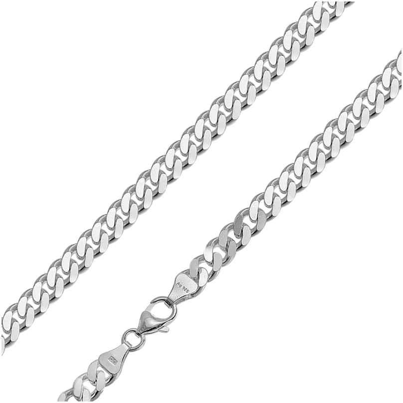 trendor 85888 Herren Silber-Halskette