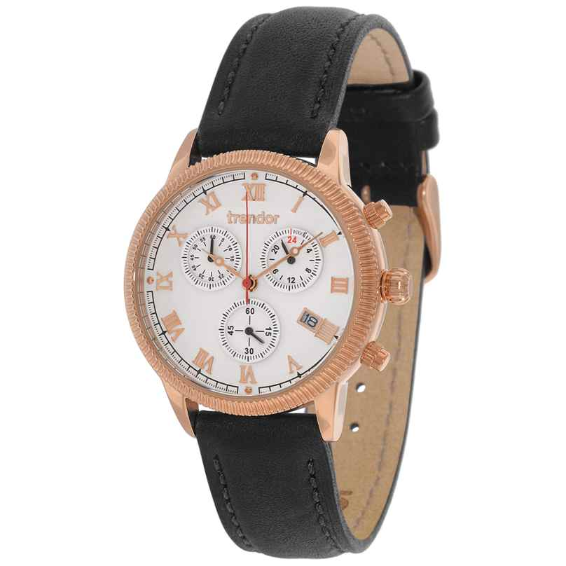 trendor 7601-01 Chronograph Damen-Armbanduhr 4260333976038