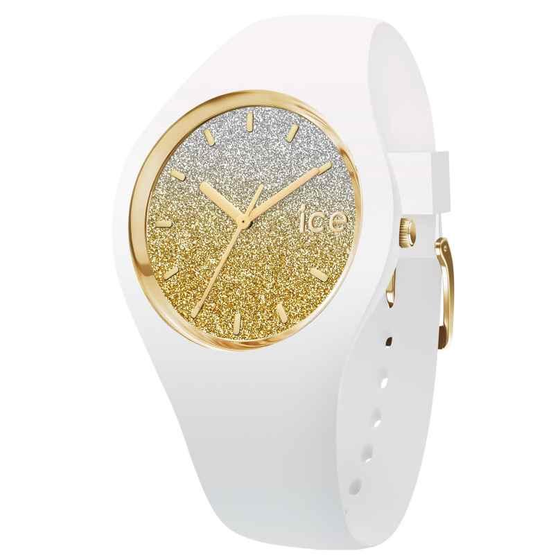 Ice-Watch 013432 Armbanduhr Ice Lo Weiß/Gold M 4895164070435
