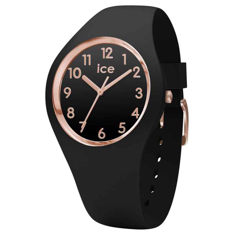 Ice-Watch 015340 Damenuhr Glam schwarz/roségold M 4895164082070