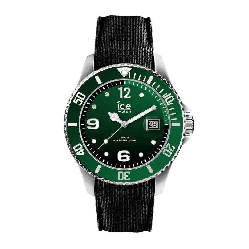 Ice-Watch 015769 Herrenuhr Ice Steel Green M 4895164084432