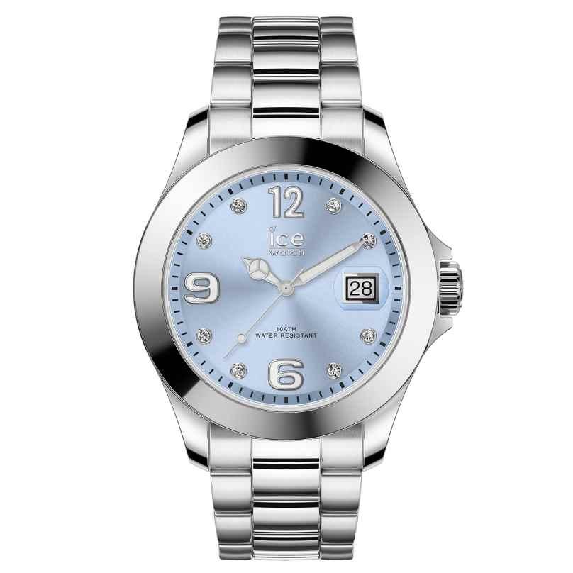 Ice-Watch 016775 Ladies Watch Ice Steel Light Blue M 4895164090013