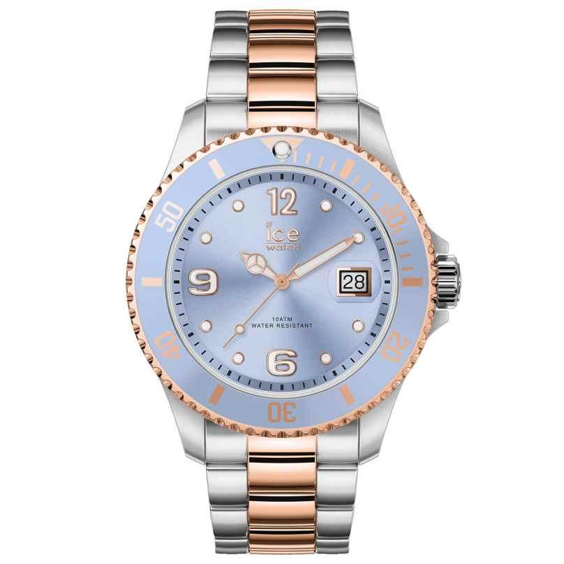 Ice-Watch 016770 Damenuhr Ice Steel Sky Silver Rose-Gold M 4895164089963