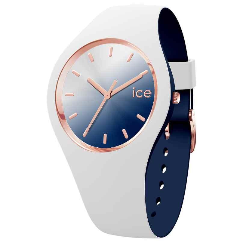Ice-Watch 016983 Damenuhr Duo Chic Weiß/Marine M 4895164091874
