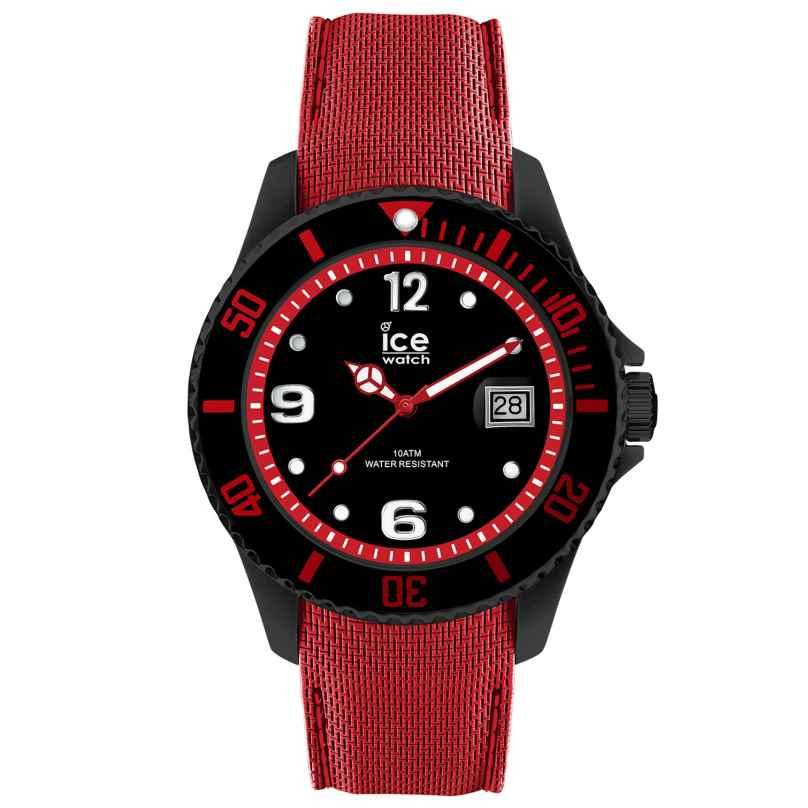 Ice-Watch 015782 Herrenarmbanduhr Ice Steel Black Red L 4895164084647