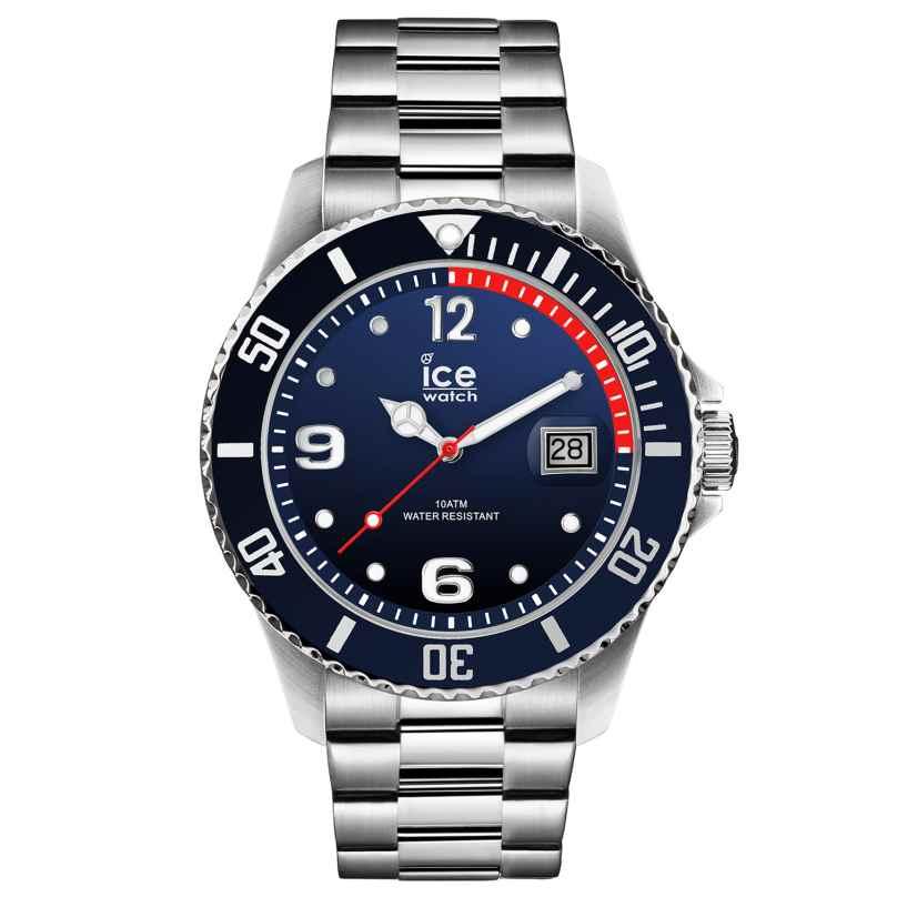 Ice-Watch 015775 Herrenarmbanduhr Ice Steel Marine Silver L 4895164084494