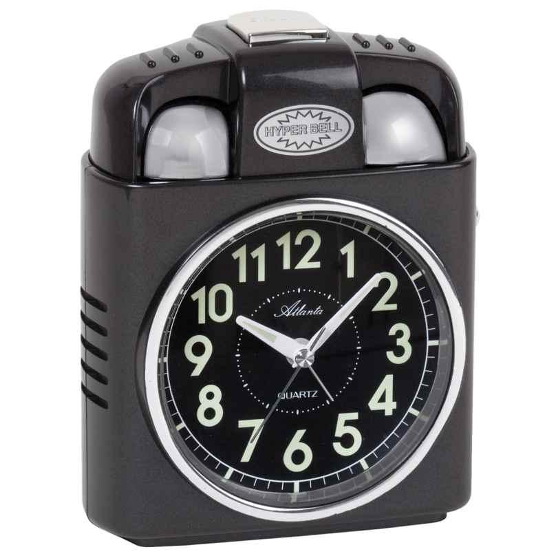 Atlanta 1947/4 Quartz Alarm Clock Extra Loud 4026934194741