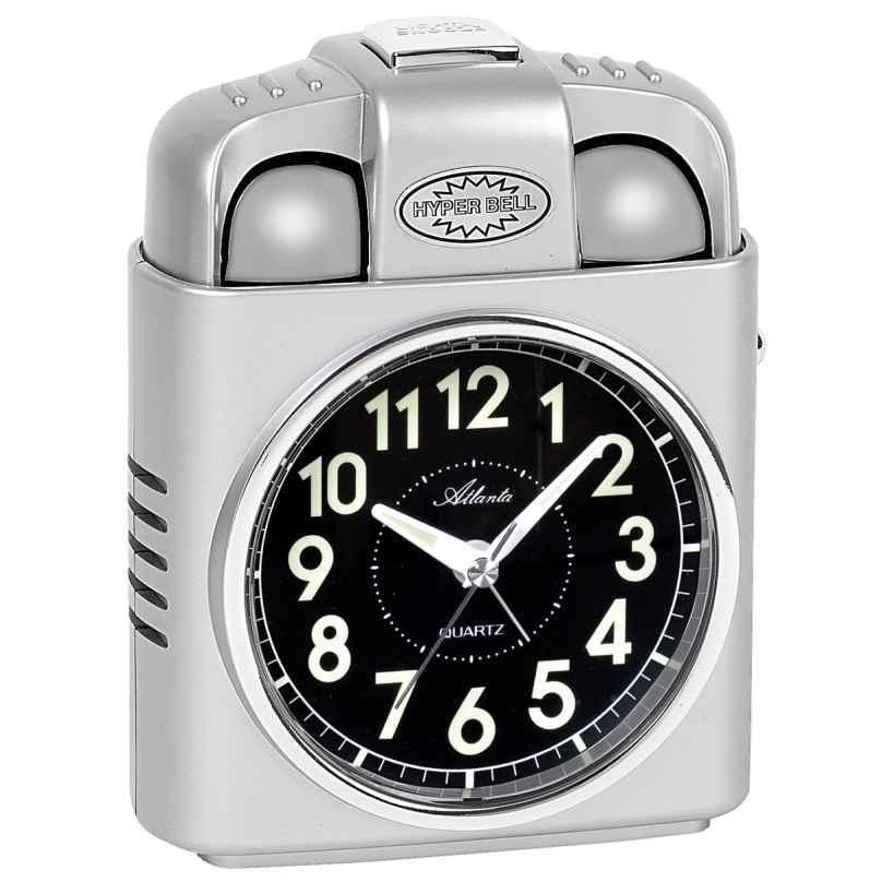 Atlanta 1947/19 Wecker mit Extra Lautem Glockensignal 4026934194710