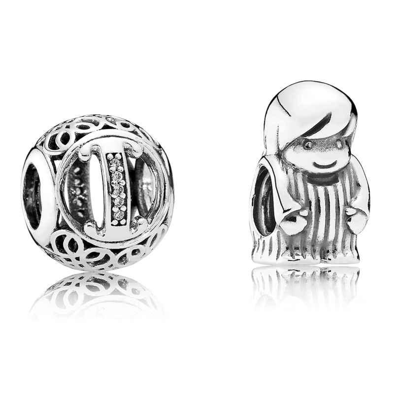 Pandora 08218 Charms Vintage I und Kleiner Junge 4260497082187