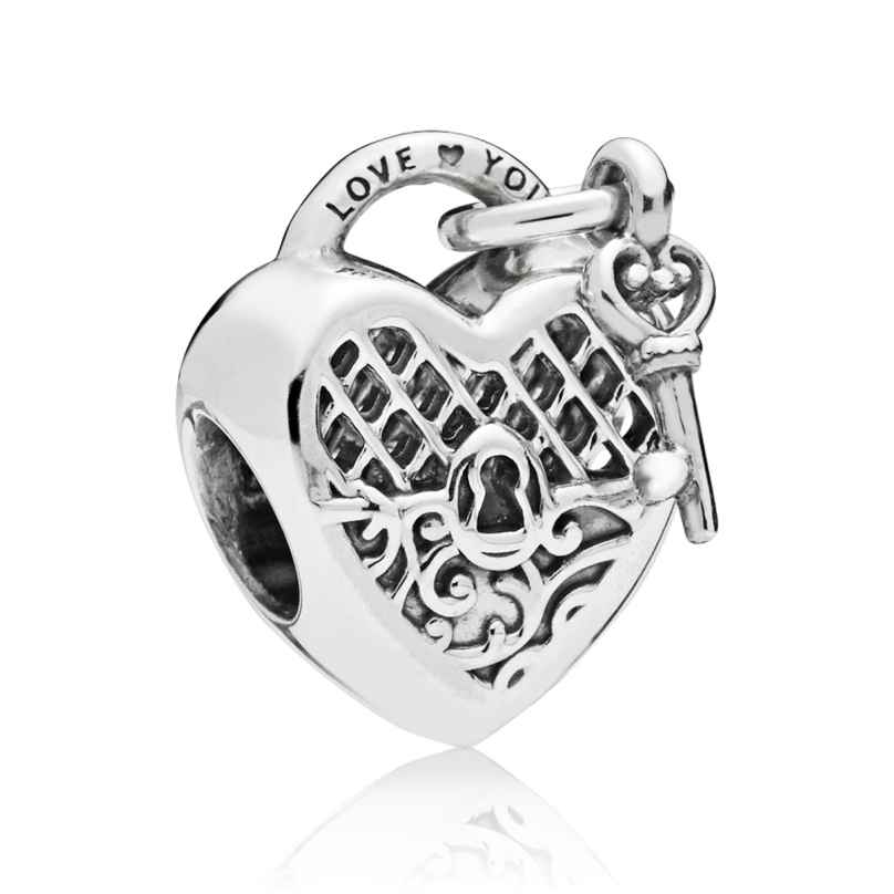 Pandora 797655 Charm Love You Lock 5700302690767
