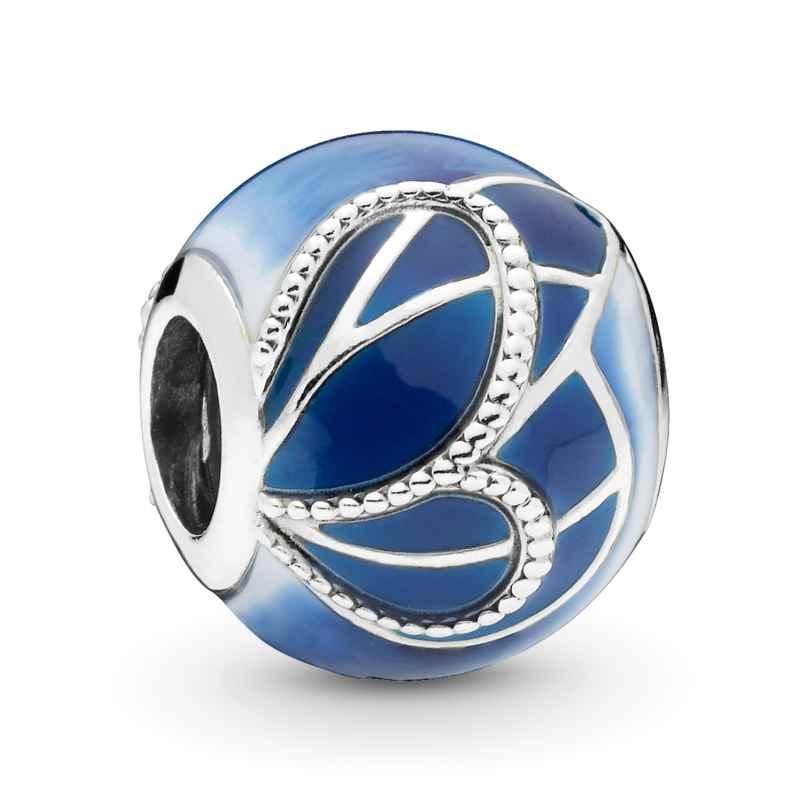 Pandora 797886ENMX Silver Charm Blue Butterfly Wing 5700302765298