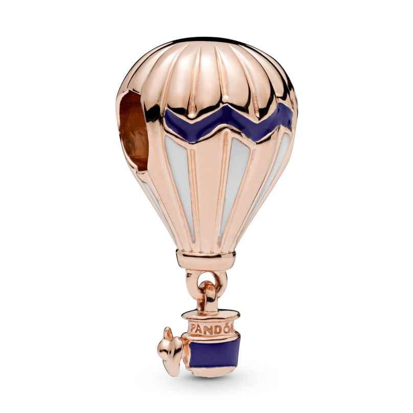 Pandora 798055ENMX Rose Charm Blue Hot Air Balloon 5700302777024