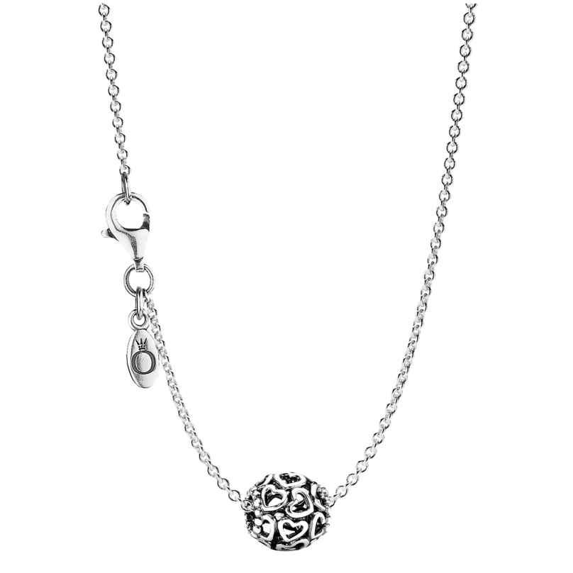 Pandora 79893 Damen-Halskette Hearty 4260333979893