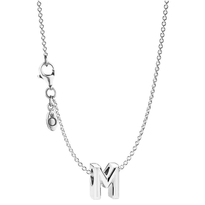 Pandora 08600 Halskette mit Buchstabe M 4260497086000