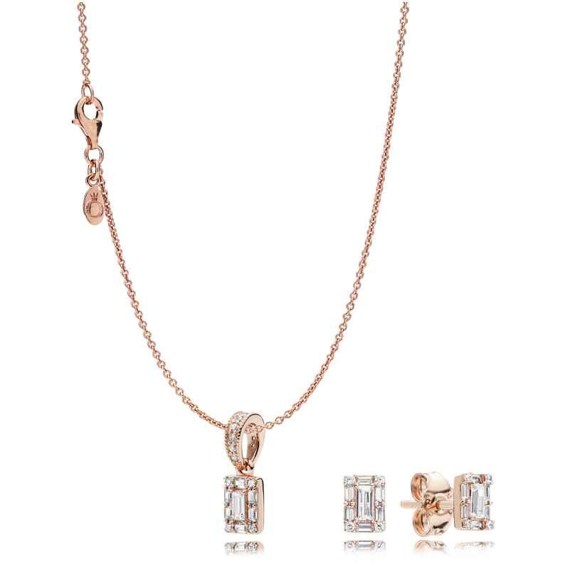 Pandora B801130 Rose Geschenkset für Damen Luminous Ice 5700302780666