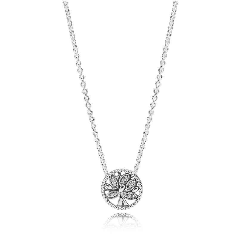 Pandora 397780CZ-45 Ladies´ Necklace Tree of Life 5700302745269